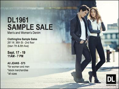 DL1961 Sample Sale