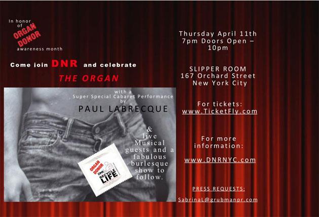 DNR (Do Not Resuscitate) Organ Donor Awareness Month Event