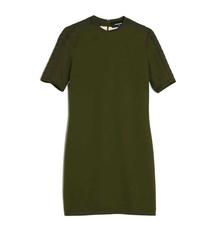 DSQUARED2 Military Minidress, WAS $985 NOW $350