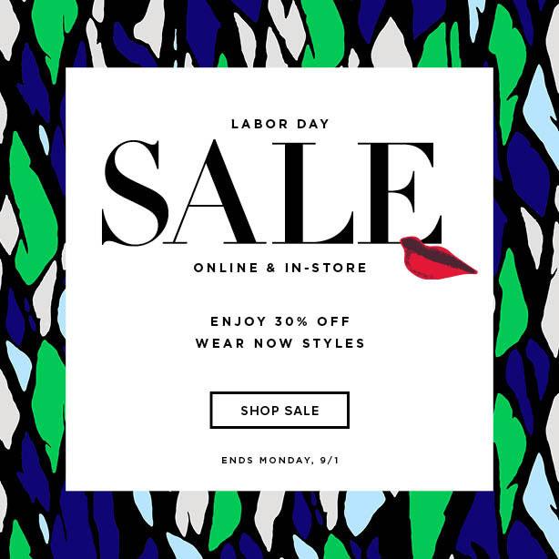 DVF Labor Day Sale