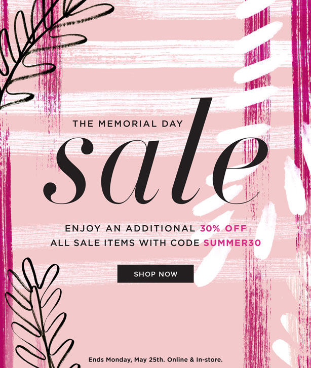 DVF Memorial Day Sale