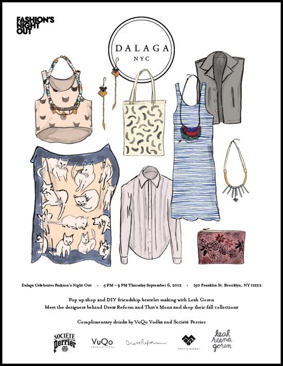 Dalaga Brooklyn Fashion's Night Out Event