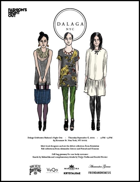 Dalaga SoHo Fashion's Night Out Event