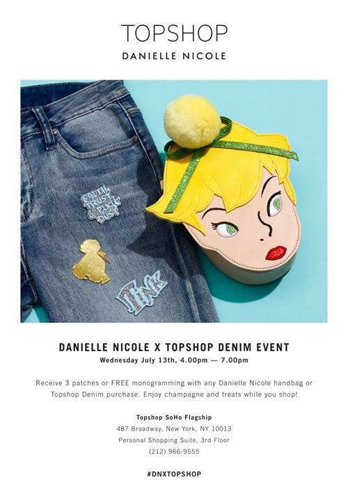 Danielle Nicole X Topshop Denim Event