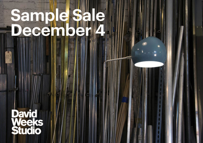 David Weeks Sample Sale