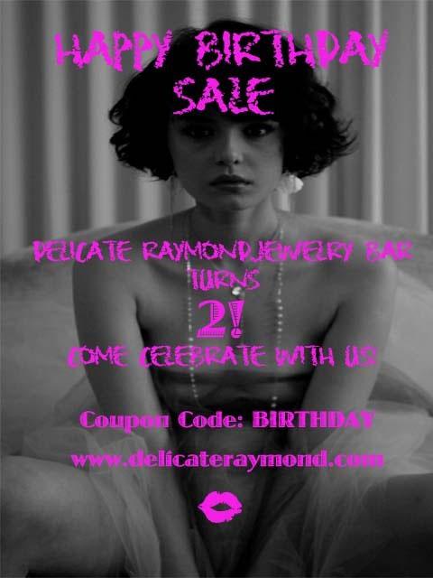 Delicate Raymond Anniversary Sale