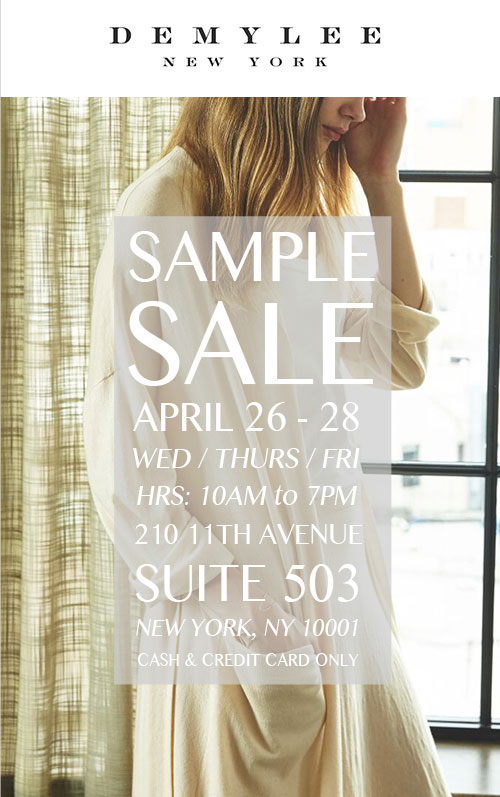 DemyLee Sample Sale