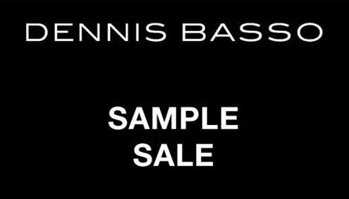 Dennis Basso Sample Sale