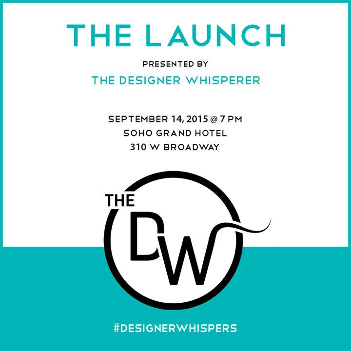 Designer Whisperers Launch