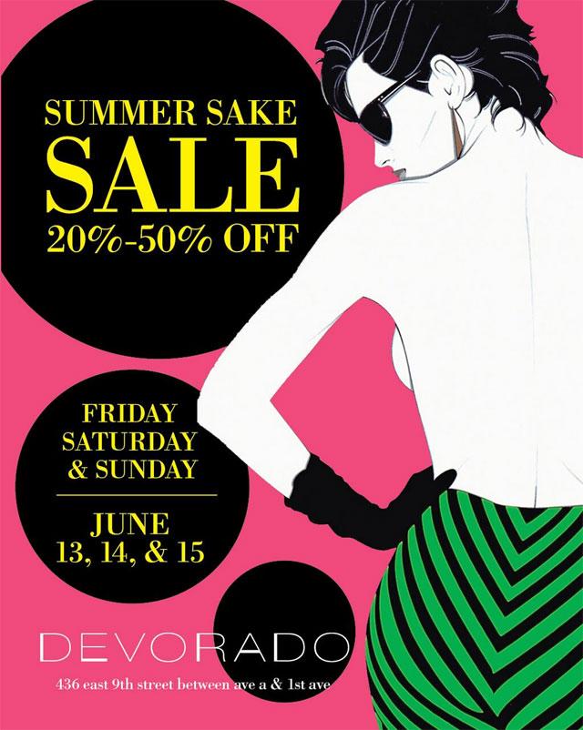 Devorado NYC Summer Sake Sale