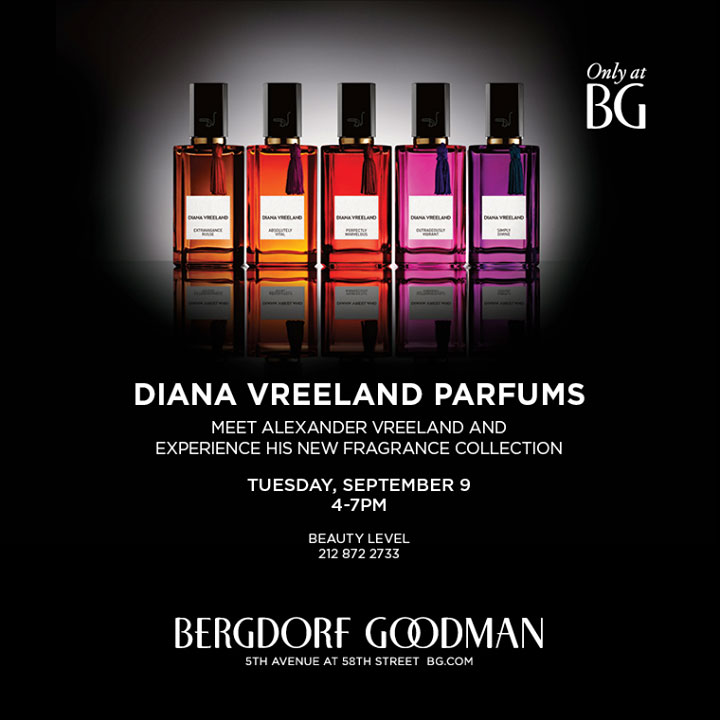 Diana Vreeland Parfums Trunk Show