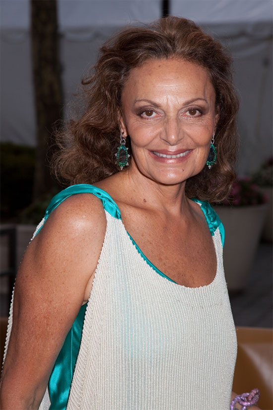 Diane von Furstenberg is the CFDA President