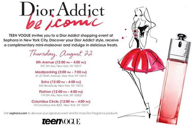 Dior Addict Shopping Event at Sephora