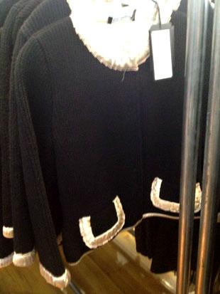 Dolce & Gabbana Cardigan Con Inserti Variante with gold trim ($410, orig. $2,050)
