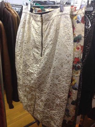 D&G Fantasia Gold Skirt ($88, $295)