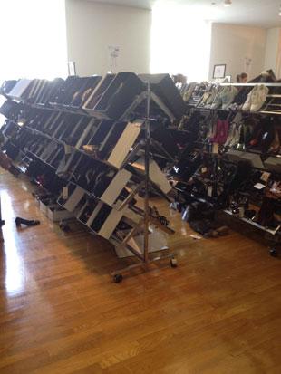 Dolce & Gabbana Footwear Rack