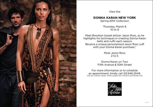 Donna Karan New York Trunk Show