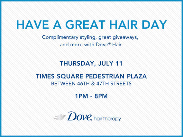 Dove Great Hair Event