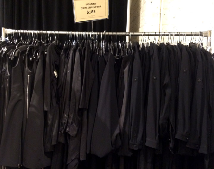 Black dresses and jumpers for $185