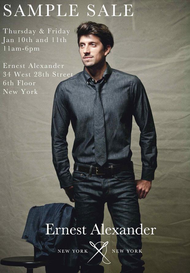 Earnest Alexander Sample Sale