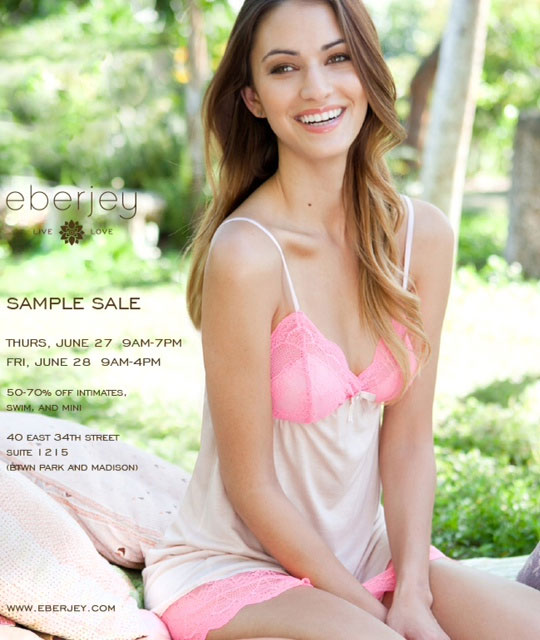 Eberjey Sample Sale