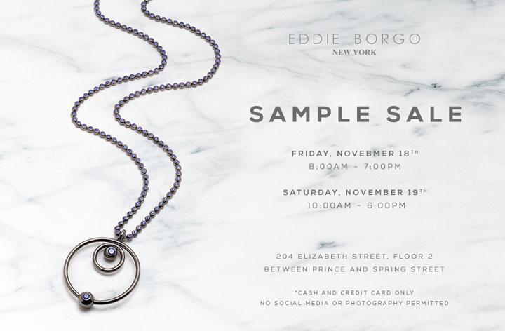 Eddie Borgo Sample Sale