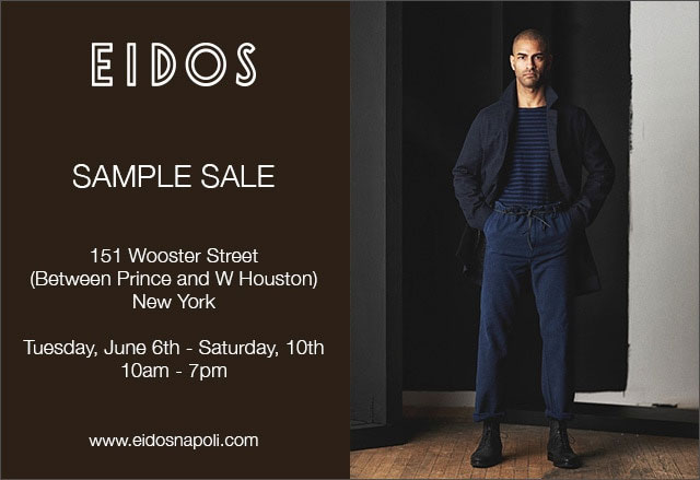 Isaia + Eidos Sample Sale