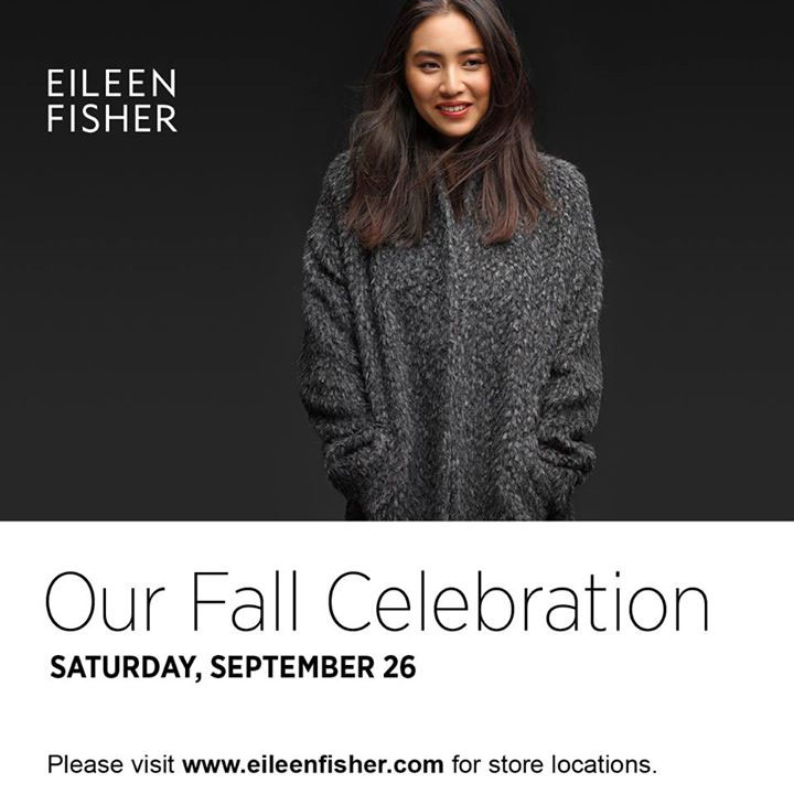 Eileen Fisher Fall Celebration Event