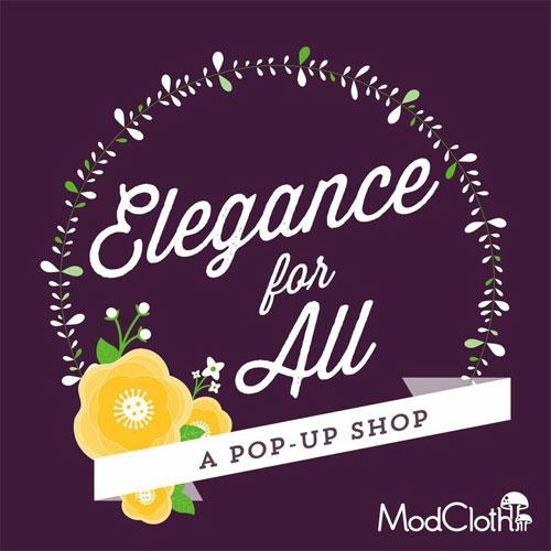 Modcloth Pop-up Shop