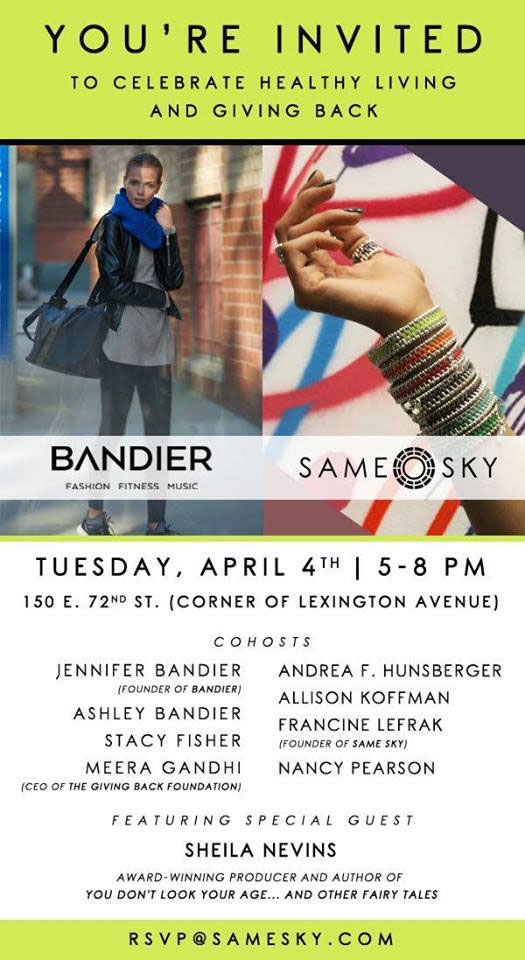 Elements Fitness x Bandier x Same Sky Fashion Event