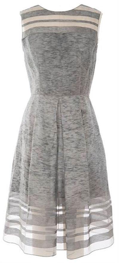 DAISY DRESS: Ananas Cold Dyed in doe/hot lava from Spring 15 collection Retail: $398, Now $99