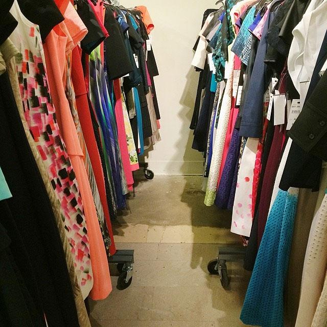 Elie Tahari Spring 2014 Clothing & Accessories New York Sample ...