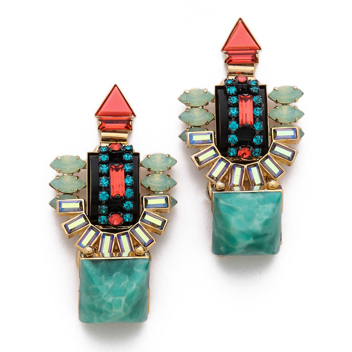 Elizabeth Cole Juniper earrings: $85 (orig. $285)
