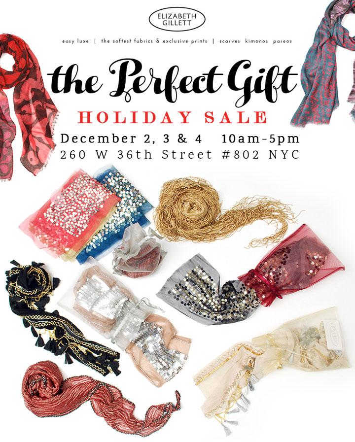 Elizabeth Gillett Holiday Sample Sale