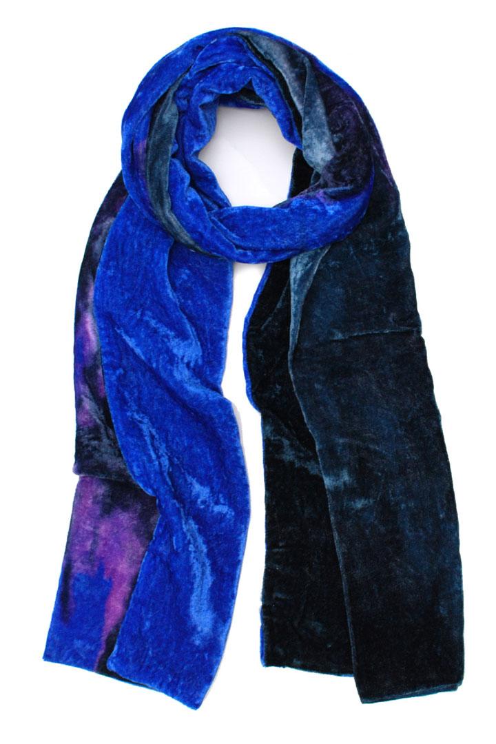 Elizabeth Gillett Gaia ombre velvet scarf: $50 (retail $100)