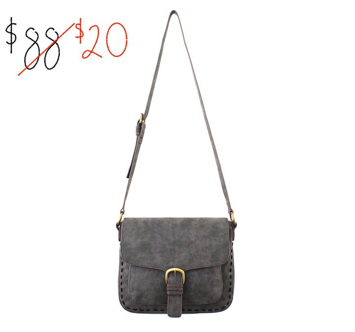 Elle & Jae non-leather bag: $20 (orig. $88)