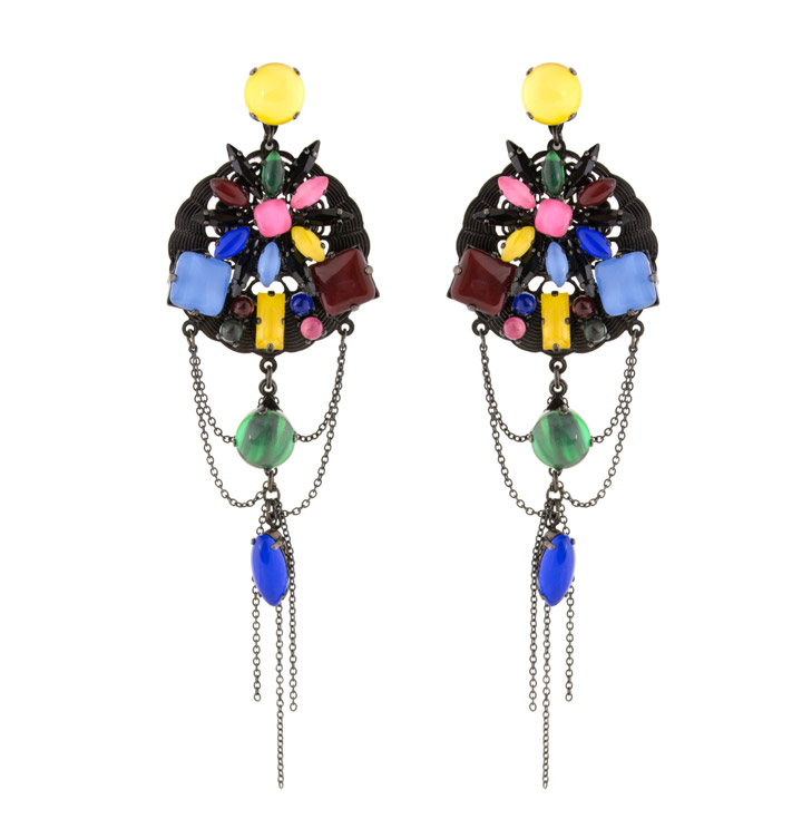 Erickson Beamon Party Mix Earrings: $172 (orig. $430)