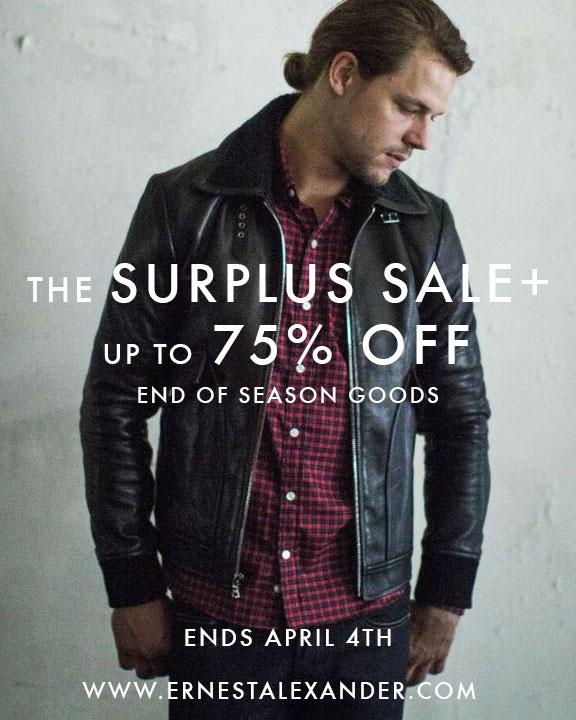 Ernest Alexander Online Surplus Sale