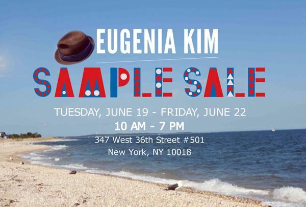 Eugenia Kim Accessories New York Sample Sale - TheStylishCity.com