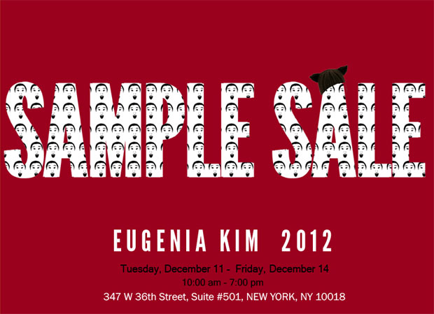 Eugenia Kim Sample Sale
