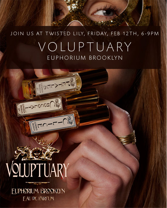 Euphorium Brooklyn Voluptuary Fragrance Launch Event
