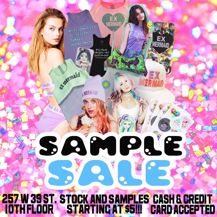 Ex Mermaids Sample Sale