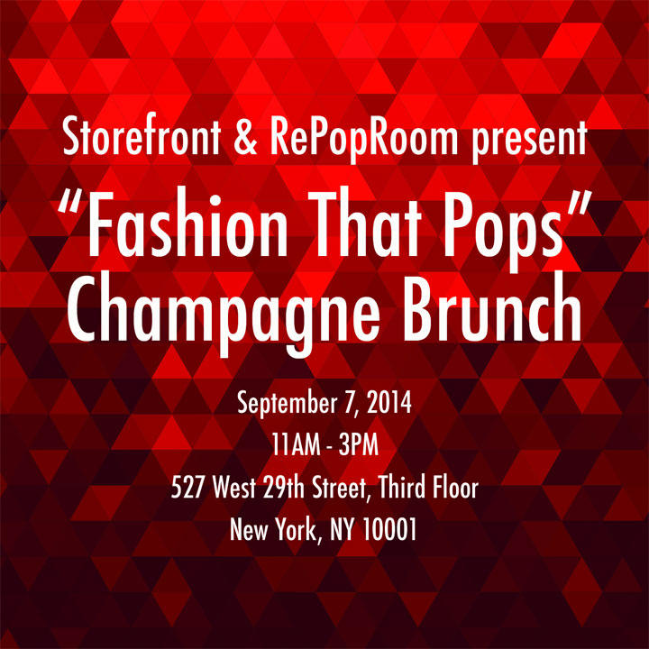 NYFW Event: Sunday brunch with Storefront x RePopRoom