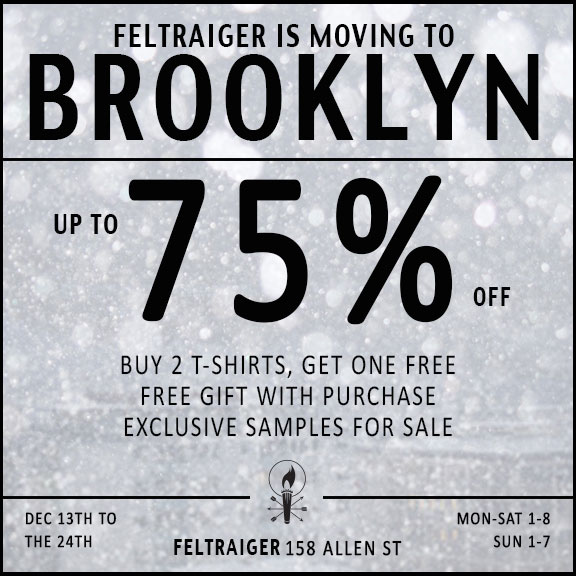 Feltraiger Moving Sale
