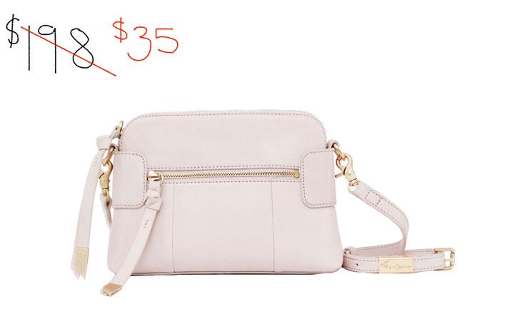 Foley & Corrina leather handbag: $35 (orig. $198)