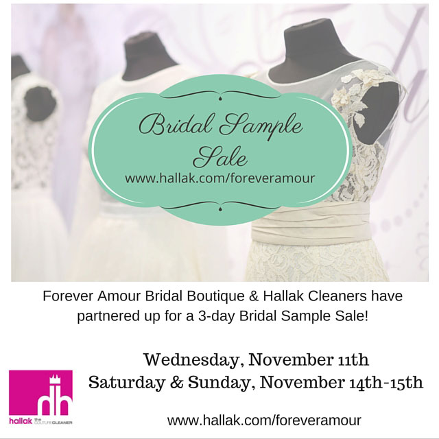 Forever amour bridalwear new york sample sale for Wedding dress steaming near me