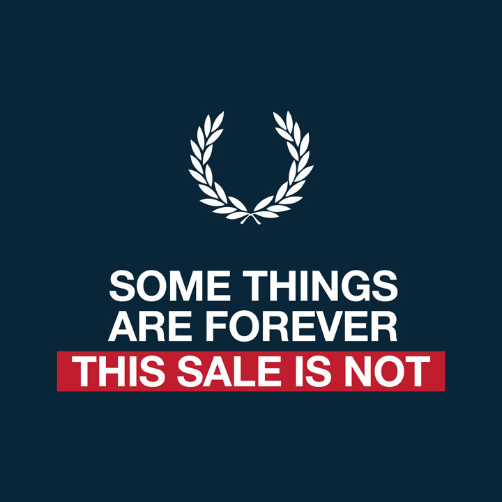 Fred Perry Brooklyn Surplus and Sample Sale