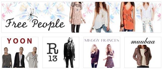 Free People, Yoon & more Clothing New York Sample Sale ...