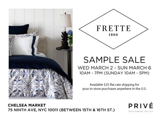 The Frette Sample Sale Will Make Your Bed (Better) - Racked NY