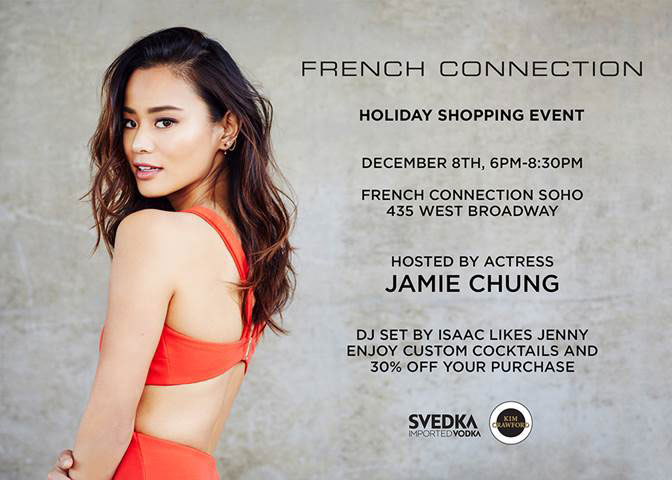 French Connection Holiday Shopping Event